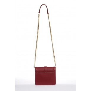 Women's Burgundy Shoulder Bag