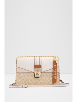 Beige Women's Cross Bag