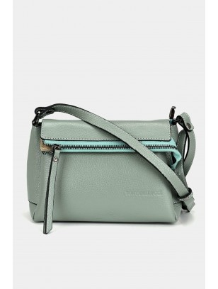 Genuine Leather Green Bag & Accessory Mini (Cross) Bag